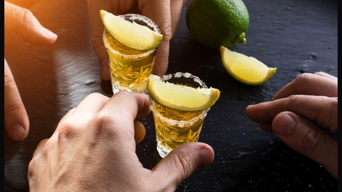 Tequila gilt als der gesündeste Alkohol