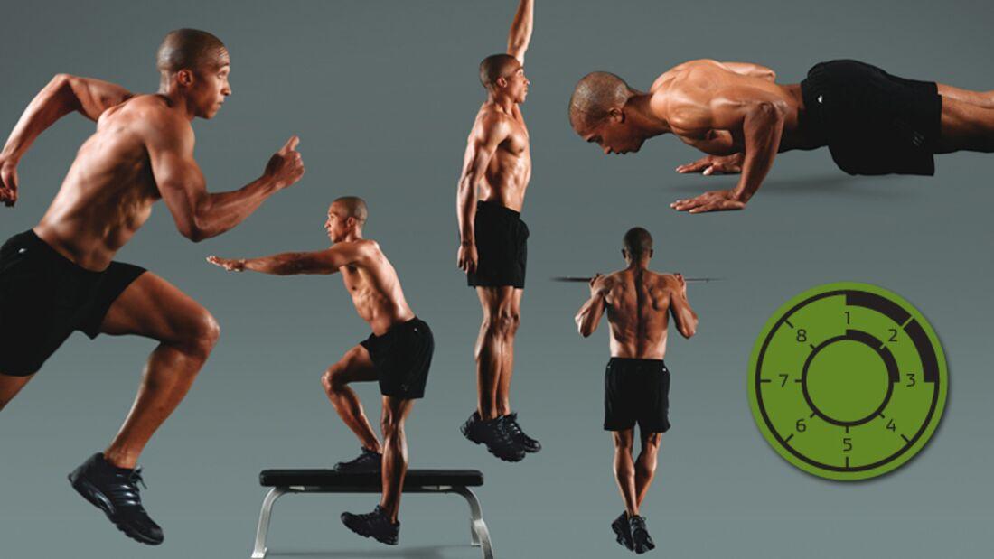 Testen Sie Ihre Muskelkraft