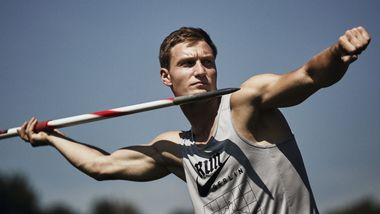 Thomas Röhler, Olympiasieger 2016 im Speerwurf