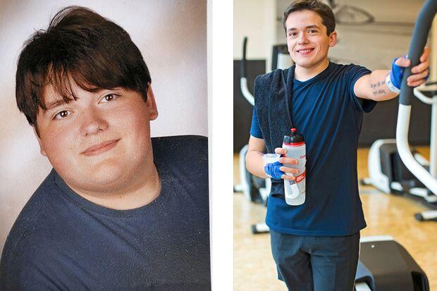 Thorben hat 60 Kilo abgenommen