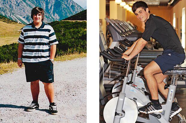 Timo hat 50 Kilo abgenommen