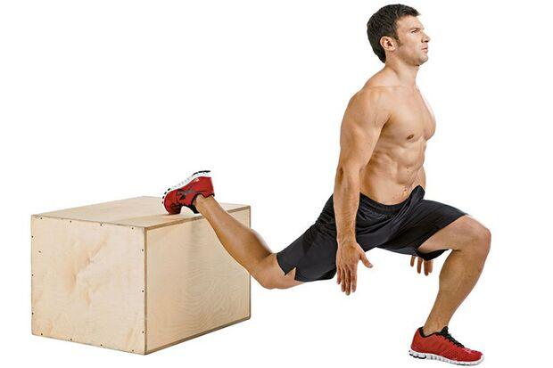 Top-Übung 1: Einbeinige Kniebeugen