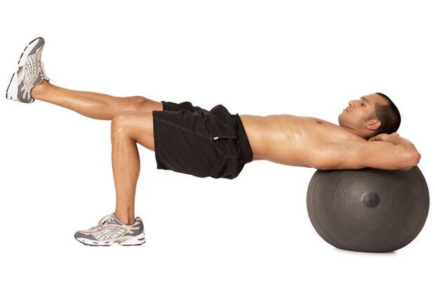 Top-Übung 3: Einbeiniges Beckenheben
