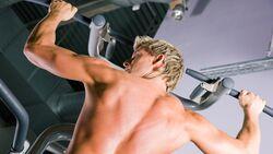 Trainierte Muskeln zeigen viel Relief