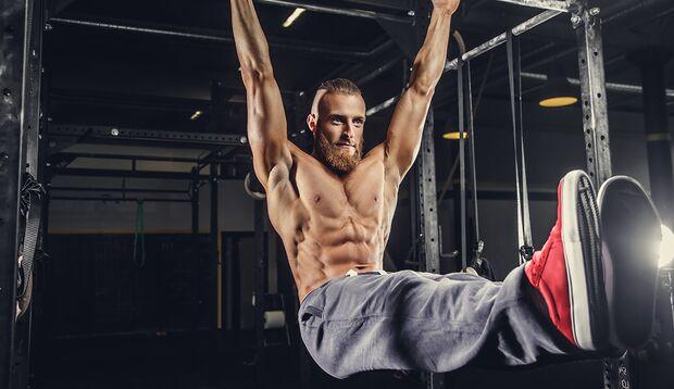 Trainierte seitliche Bauchmuskeln sorgen für die vordere V-Form
