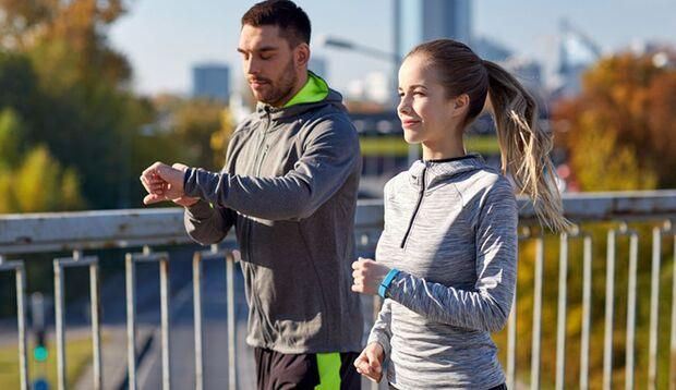 Training mit Fitness-Tracker