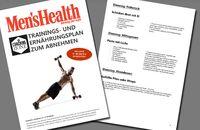 Trainings- und Ernährungsplan: Abnehmen in 12 Wochen