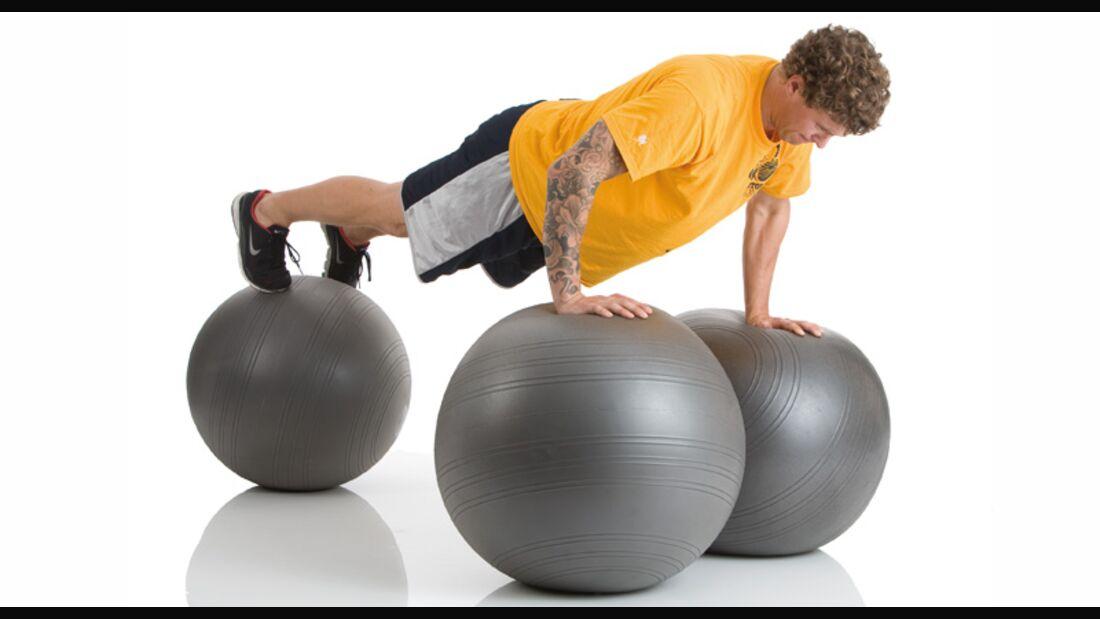 Trainingsgeräte-Lexikon: Gymnastikball