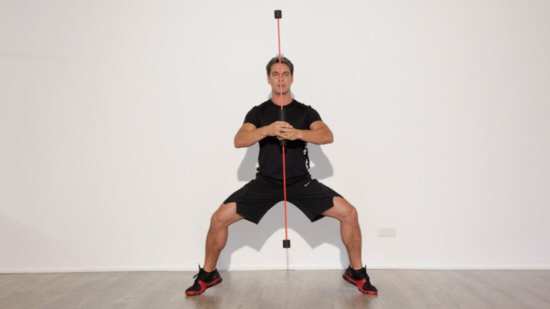 Trainingsgeräte Lexikon: Schwingstab