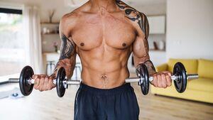 Trainingsplan: Breite Brust im Home Gym