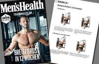 Trainingsplan: Breite Brust
