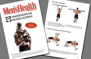 Der Perfekte Trainingsplan Für Den Muskelaufbau Men S Health