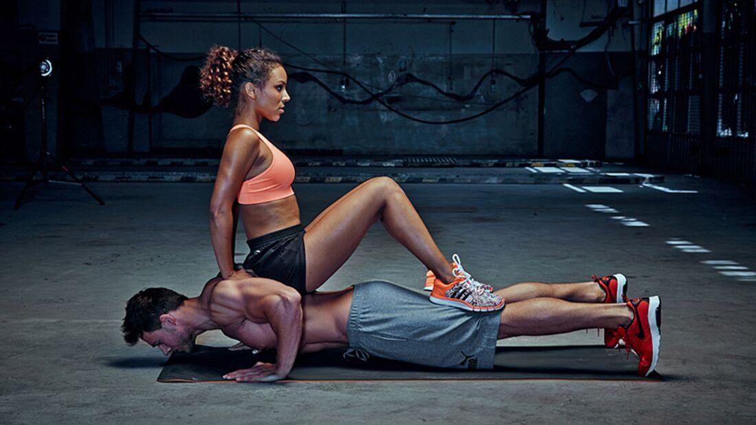 Trainingsplan fürs Partner-Workout