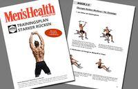 Trainingsplan: starker Rücken