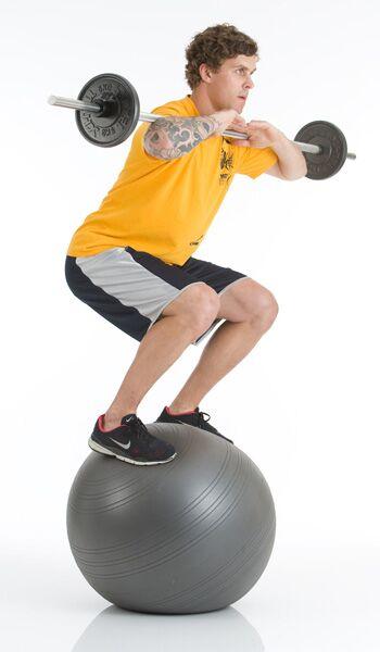 Traininsgeräte Lexikon: Gymnastikball