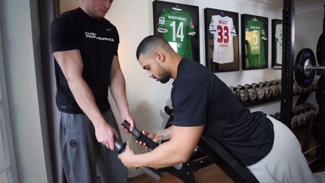 Trapezmuskel gezielt trainieren
