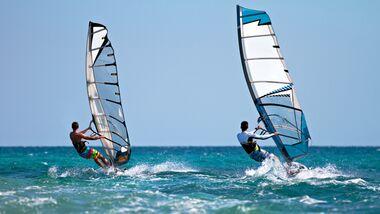 Trendsport Windsurfen