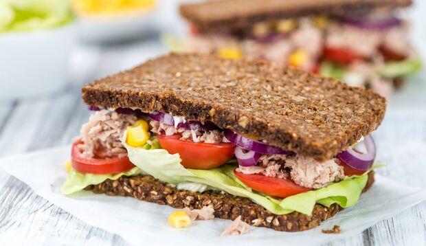 Tuna-Sandwich: lecker und gesund