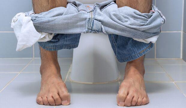 Typisch für eine Reizblase: Der Harndrang ist groß, die Urinmenge gering