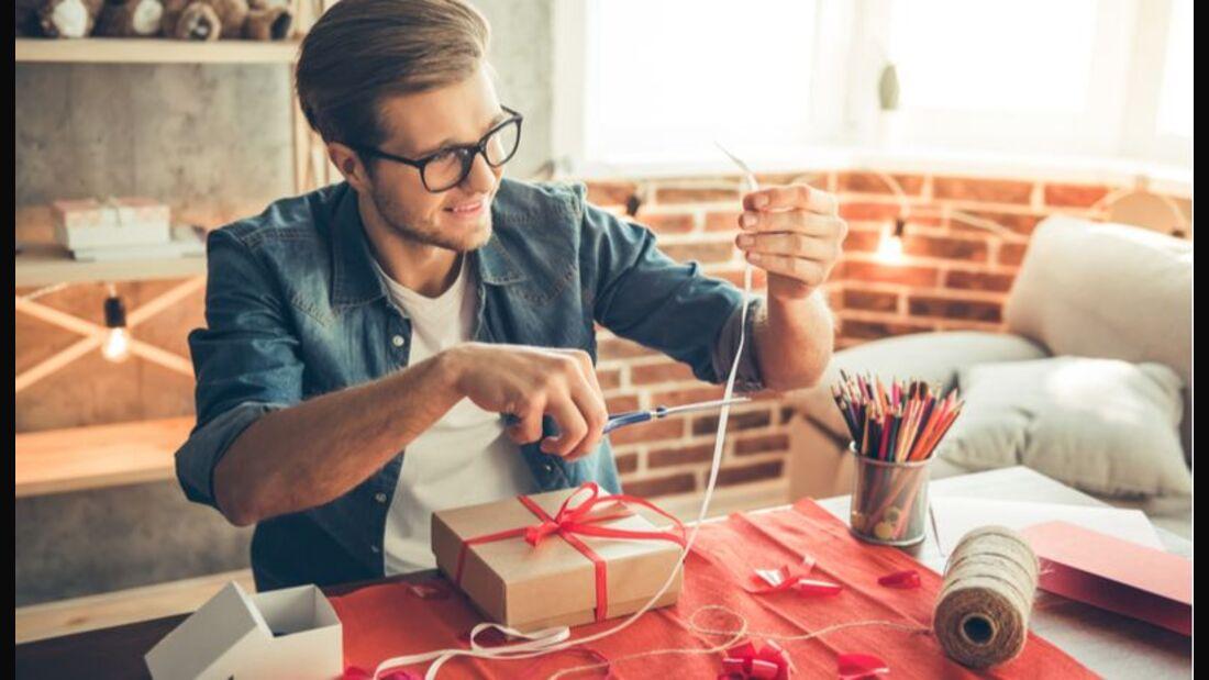 Überraschen Sie zu Weihnachten mit selbst eingepackten Präsenten