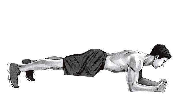 Übung 5: Unterarm-Stütz
