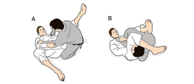 Übungsabfolge Brasilian Jiu-Jitsu