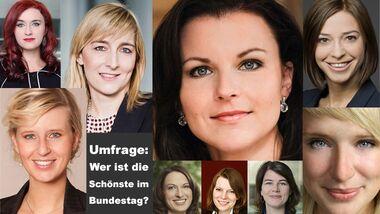 Umfrage: Wer ist die attraktivste Bundestagsabgeordnete?