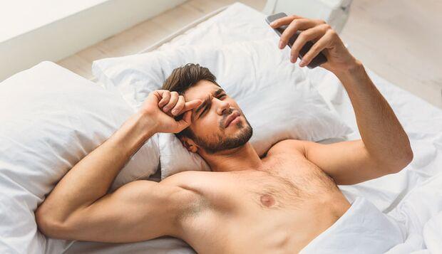 Unruhiger Schlaf kann Krankheiten verursachen