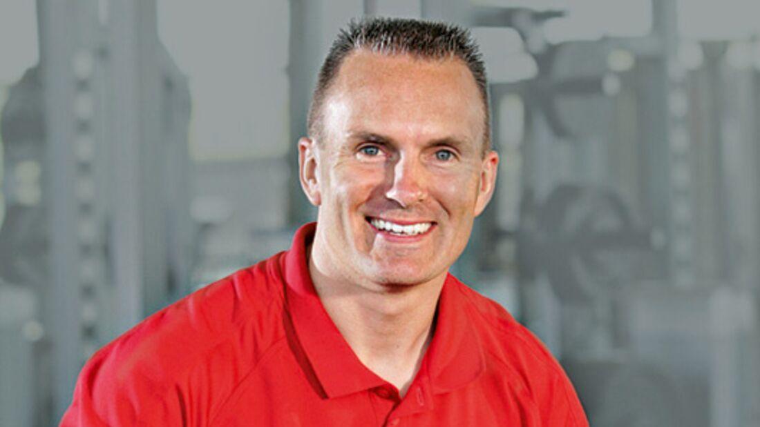 Unser Experte: Mark Verstegen,  Fitnesstrainer und Berater der Deutschen Fußball-Nationalmannschaft