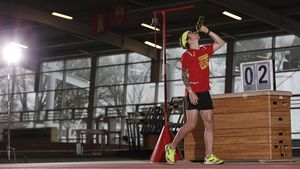 Unser Lauftrend-Tester Florian Neuschwander (34), genannt Flow, ist einer der besten Läufer Deutschlands