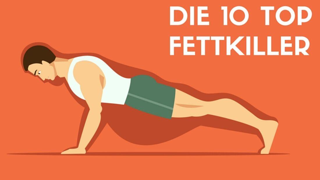Unsere 10 besten Fettkiller-Tipps
