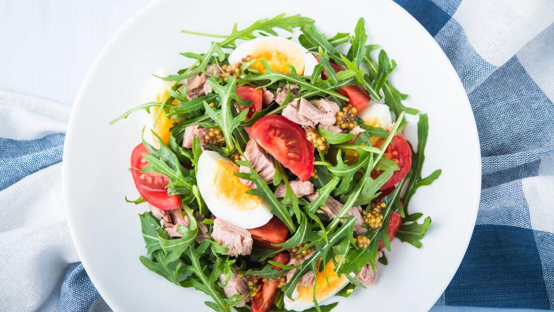 Grüne Salate zum schnellen Abnehmen