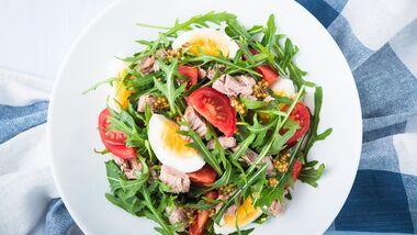 Unsere eiweißreichen Salate pushen den Muskelaufbau