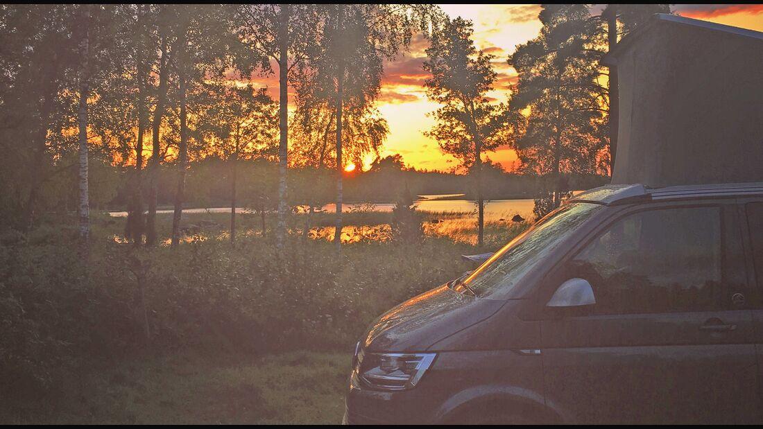 Urlaub mit dem Camper
