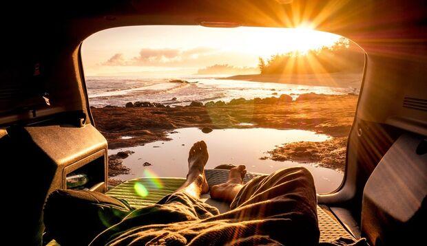 Van with a view ... Wo du morgens aufwachst, bleibt allein dir überlassen