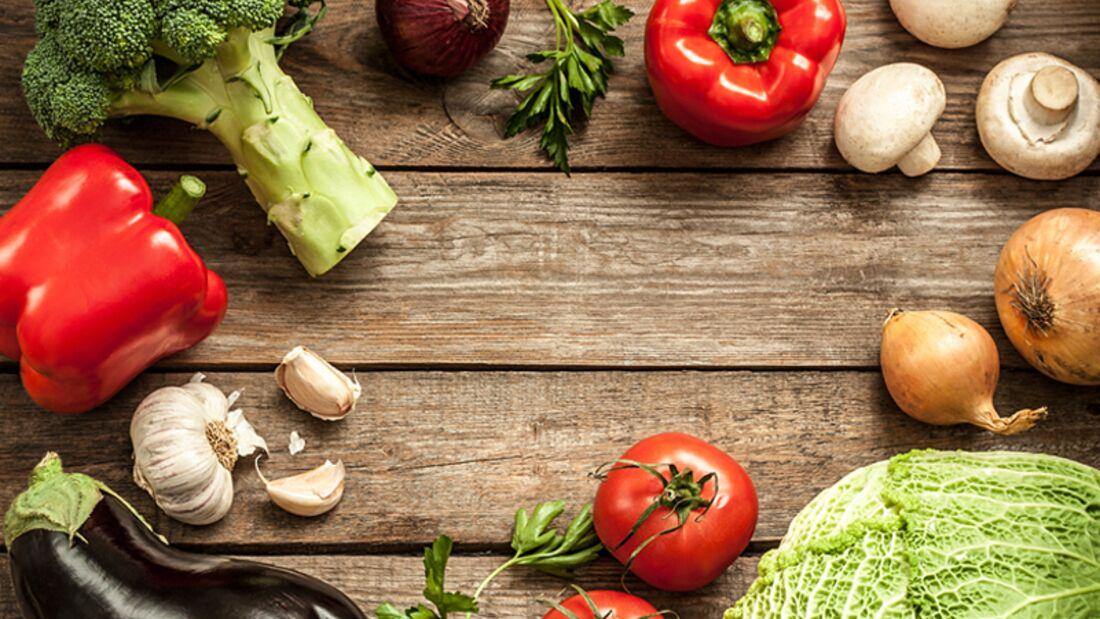 Vegetarischer Ernährungsplan für definierte Arme