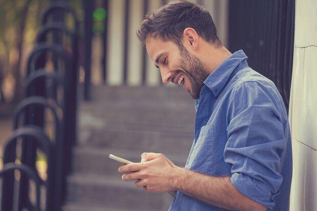 Verwenden Sie die richtige Dating-App?