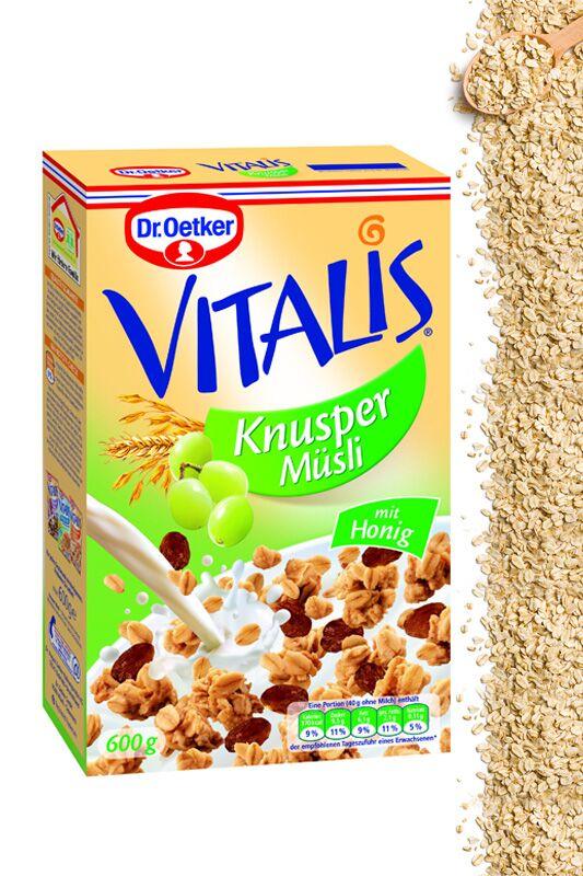 Vitalis Knusper-Müsli von Dr. Oetker