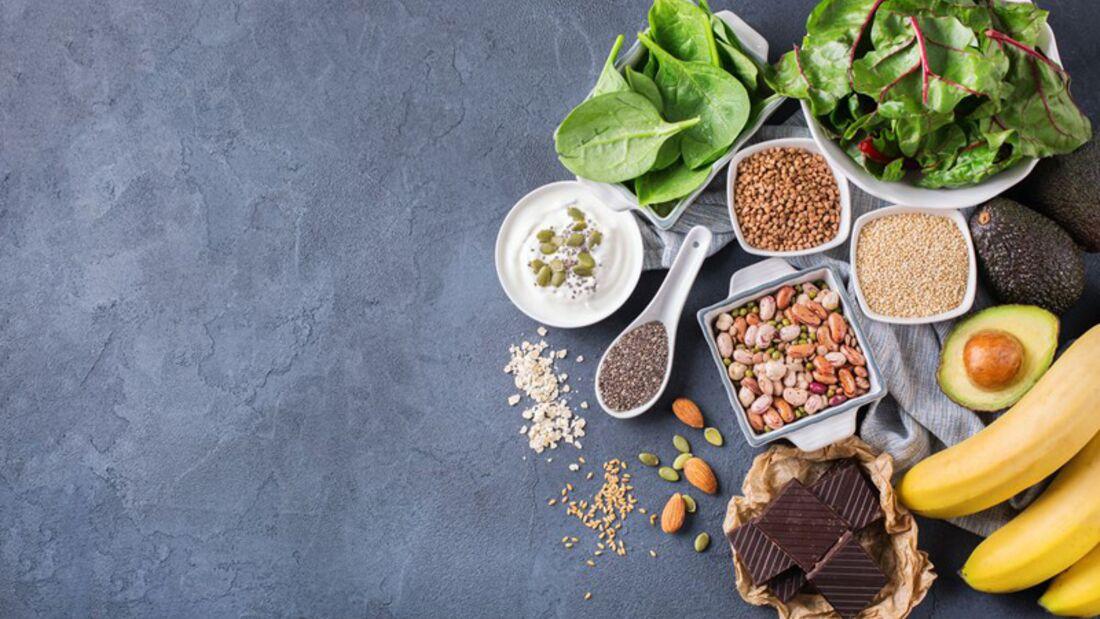 Von Banane bis Schokolade: Magnesium steckt in vielen Lebensmitteln