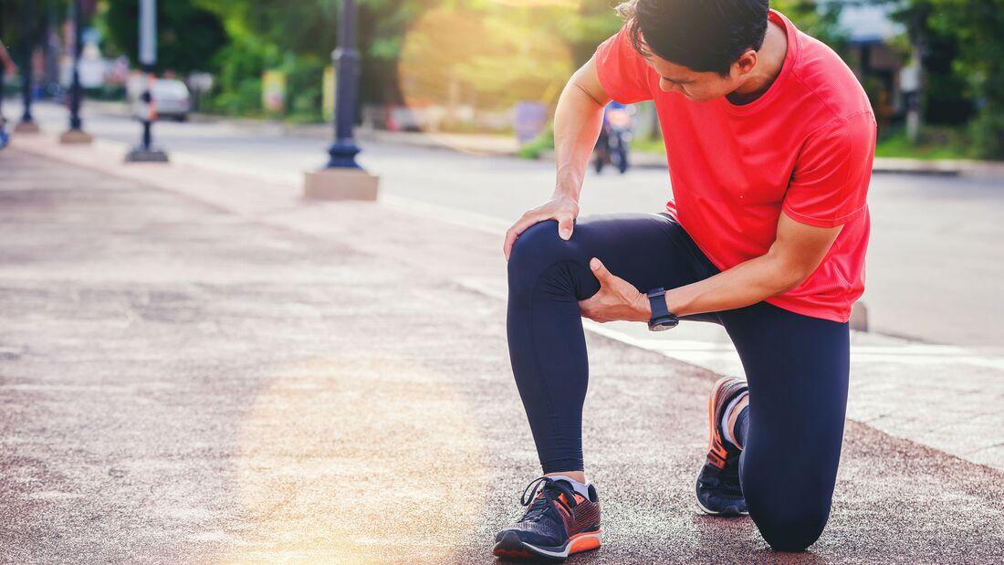 Von Muskelverhärtungen sind Sportler besonders häufig betroffen
