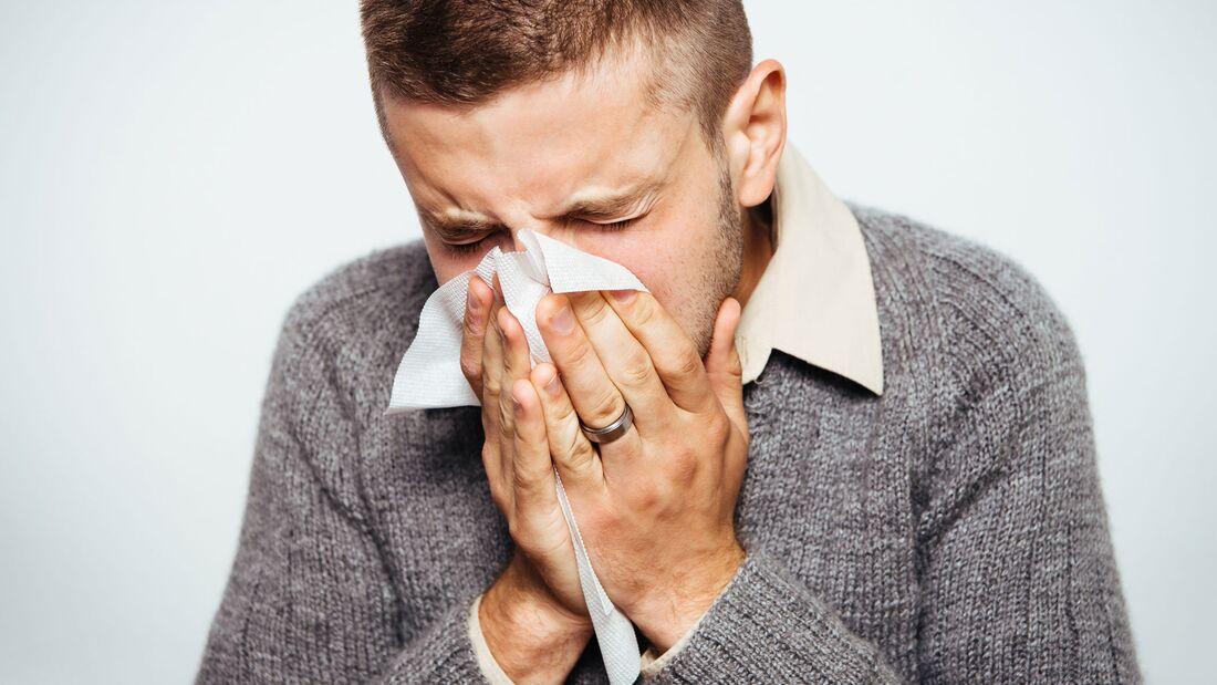 Vor einer Ansteckung mit Grippeviren kann man sich schützen.