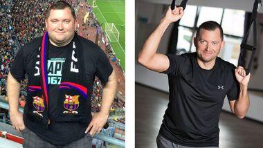 Vorher-Nachher-Vergleich: Andreas aus Beelen