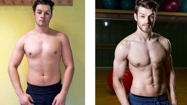 Vorher-Nachher-Vergleich: Nikolais Transformation
