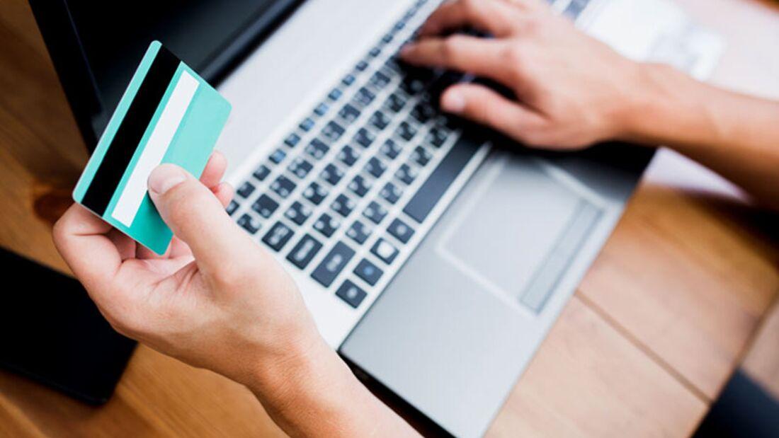 Vorsicht im Umgang mit Kreditkarten- und Kontodaten