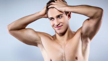 Warum Männer ihre Achselhaare rasieren sollten