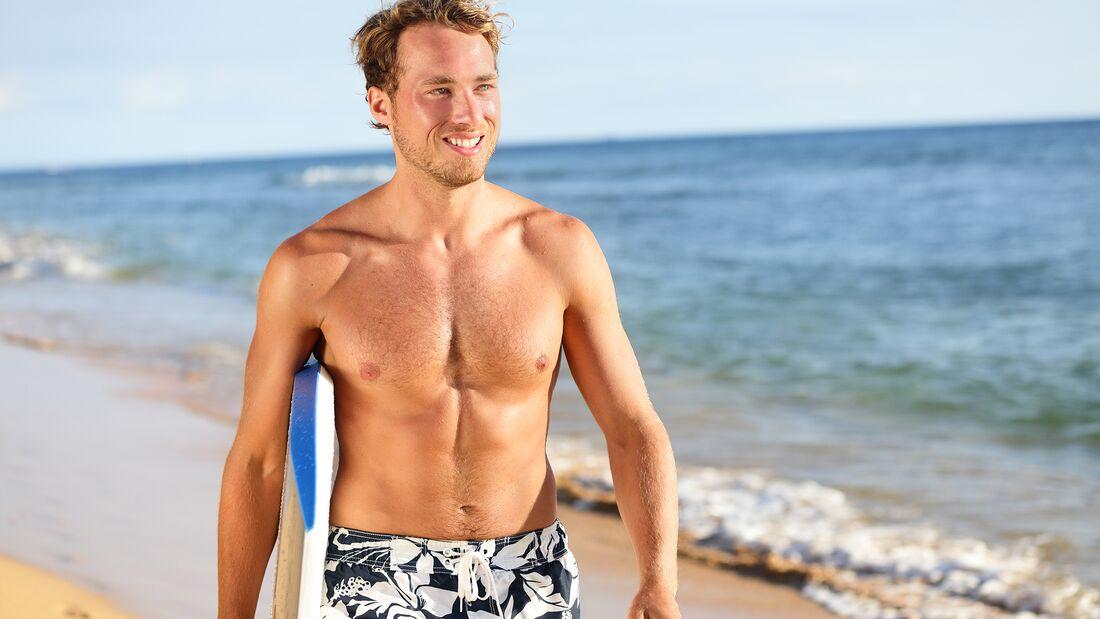 Was tun Sie für Ihre Strandfigur?
