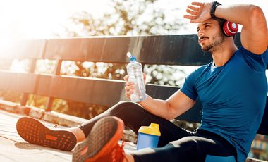 Wasser unterstützt den Muskelaufbau