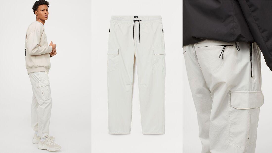 Weiße Hose SS2021 / H&M
