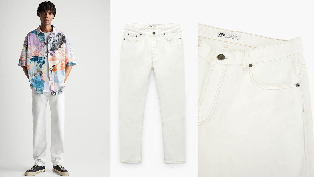 Weiße Hose SS2021 / Zara