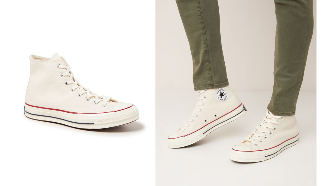 Weiße Sneaker SS 2021 / Converse